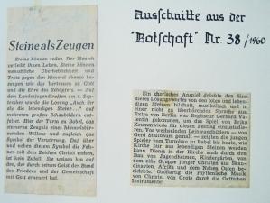 19. Landesjugendtreffen im Sachsenhain / Verden (04.09.1960) - Zeitungsartikel